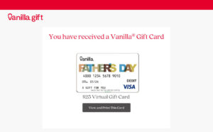 egift card for father's day
